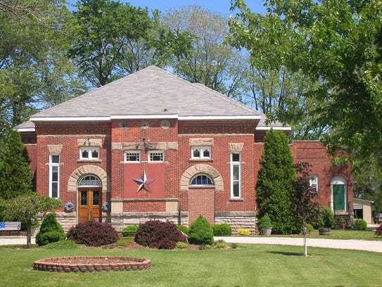 The old Rollersville School is now a private residence.