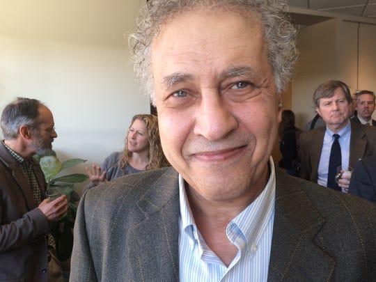 Qussäi Samak, professor of environmental studies and sustainable development in Montreal.