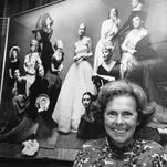 FILE - This Oct. 29, 1977 file photo shows Eileen Ford of Fords Models Inc. in New York. Ford, who shaped a generation's standards of beauty as she built an empire and launched the careers of Candice Bergen, Lauren Hutton, Jane Fonda, died Wednesday, July 9, 2014. She was 92.