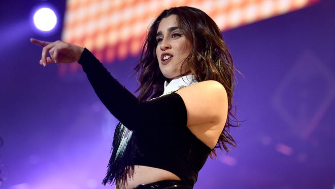 Lauren Jauregui of Fifth Harmony performs onstage during 102.7 KIIS FM's Jingle Ball 2016 on Dec. 2, 2016 in Los Angeles.