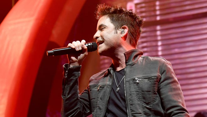 Pat Monahan will perform with Train May 25 at Indianapolis Motor Speedway.