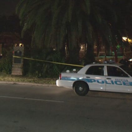 Houston police were called to the scene just north of I-10 around 5 a.m.
