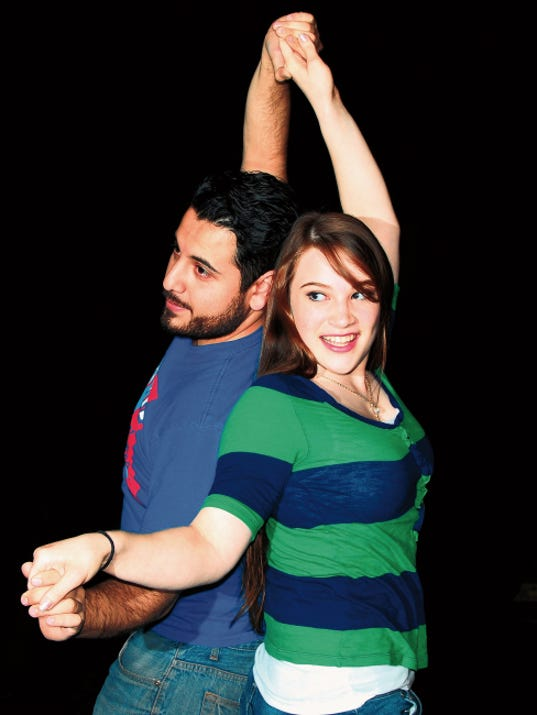"""Joseph Lopez and Bridget Andersen star in """"Shoulders,"""" opening today at the Las Cruces Community Theatre."""