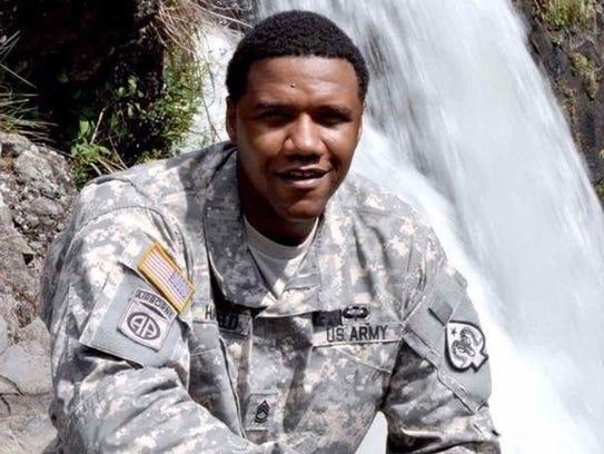 Charleston Hartfield, a Las Vegas police officer, was