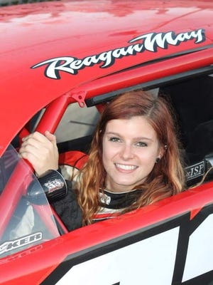 West De Pere native Reagan May has her eye on the TUNDRA super late model series title in 2015.