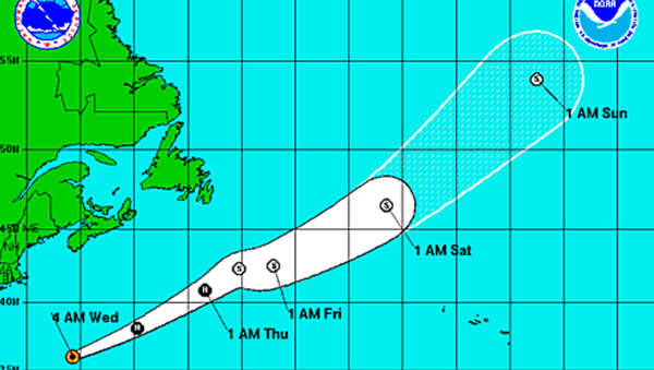 A graphic from the National Hurricane Center...
