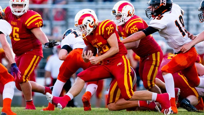 S&S' Colby McSpedden ran for 213 yards and three touchdowns on just nine carries as the Rams opened the season with a victory over Tom Bean at S&S.