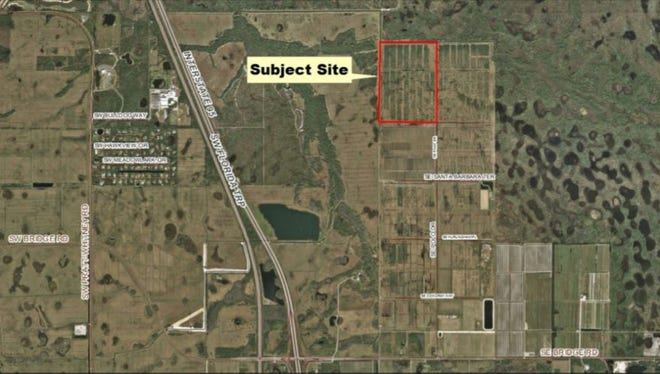 An exclusive golf course, said to be developed by NBA Hall of Famer Michael Jordan, is being proposed for this site in Hobe Sound.
