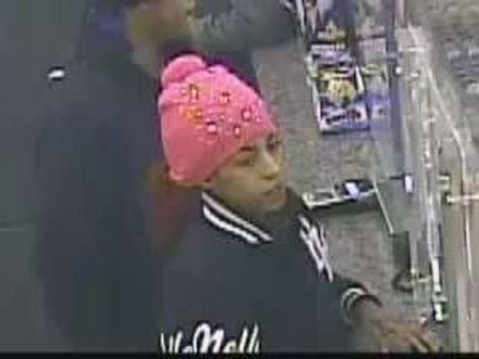 One of the suspects sought in a fatal hit-and-run.