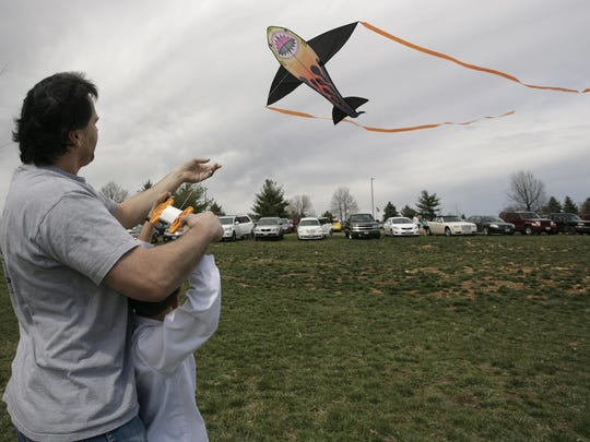 Attendees have a chance to decorate kites along with creating origami and other Japanese and Mexican crafts at the Cherry Blossom Kite Festival.