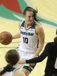 Senior forward Mehryn Kraker is averaging a team-high