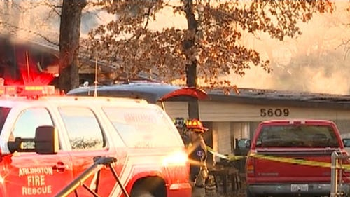 Explosions at Arlington fatal house fire