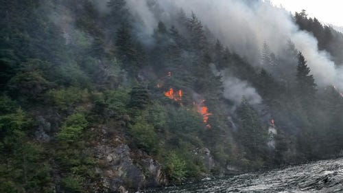PHOTOS: Evacuation orders in place for Cape Horn