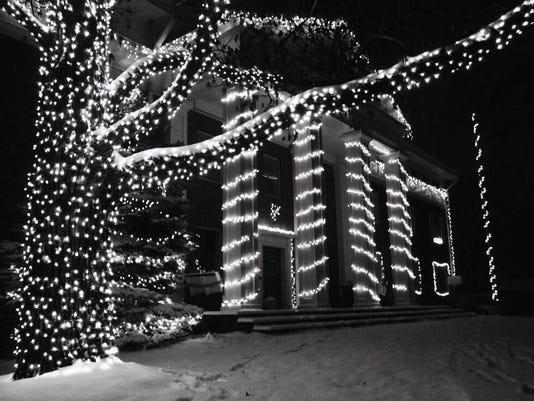 Holiday Lights DePauw