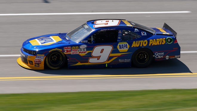 Chase Elliott's No. 9 Chevrolet will be one of the cars to beat at this weekend's 3M 250 at Iowa Speedway.