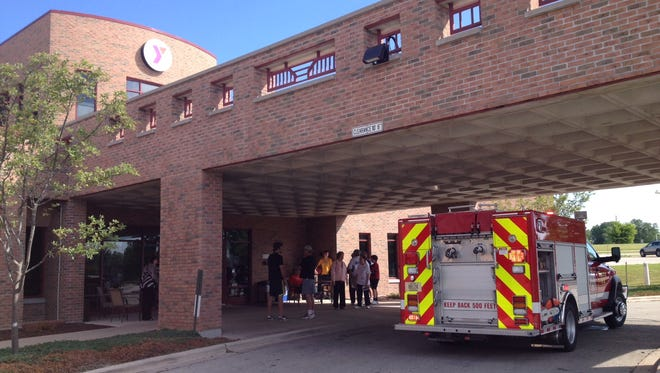 The Sturgeon Bay YMCA was evacuated for a short time Saturday morning due to smoke.