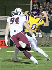 Dowling Catholic senior defensive end and top recruit