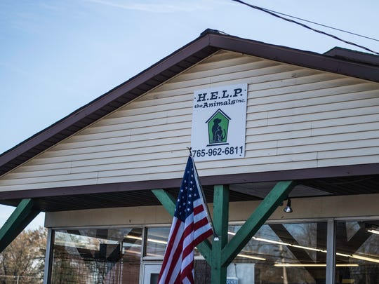 The exterior of H.E.L.P. the Animals pet shelter, 2101 W. Main St., is seen Tuesday, Nov. 14, 2017.