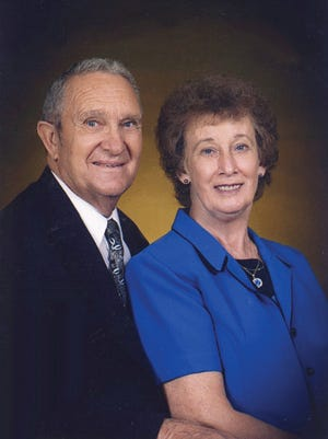 David and Barbara Wilkey celebrate 60 years of marriage earlier this month.
