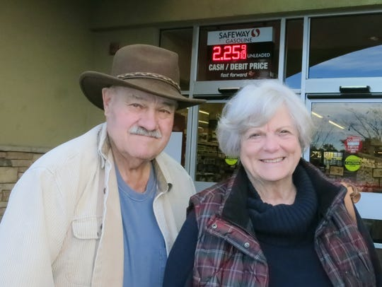 Richard and Carole Smith of Anderson attend the annual