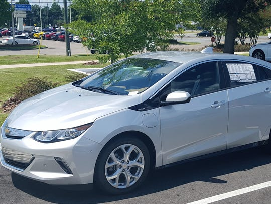 The Volt is sporty, large enough for a family of four,