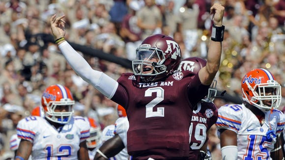 Johnny Manziel became the first freshman to win the Heisman Trophy in 2012.
