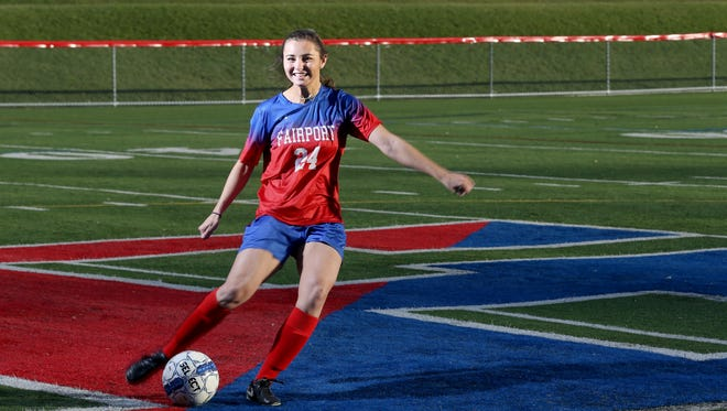Claire Myers, AGR soccer player, Fairport .