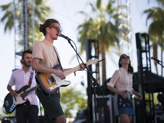 brightener, seen performing at last month's Coachella after winning the  Tachevah semi-finals heat at Pappy and Harriet's, will perform at the finale May 18 at the Date Shed in Indio.