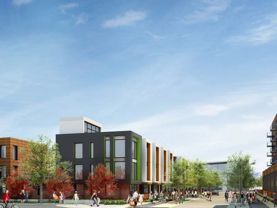Trammell Crow Co.'s new proposal for redevelopment