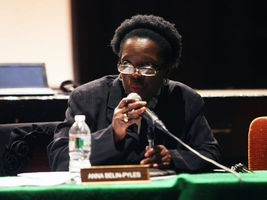 "Plainfield Schools Superintendent Anna Belin-Pyles said a robo-call authorized by Mayor Adrian Mapp was ""libel"" against her."