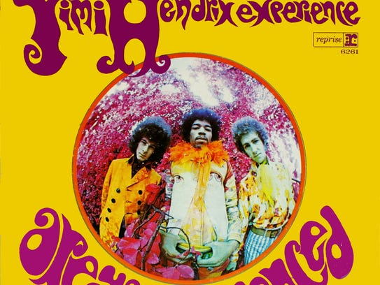 """""""Are You Experienced"""" by the Jim Hendrix Experience."""