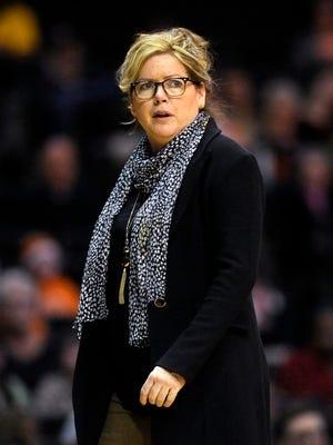 Melanie Balcomb's Vanderbilt women's basketball team has lost five consecutive games.