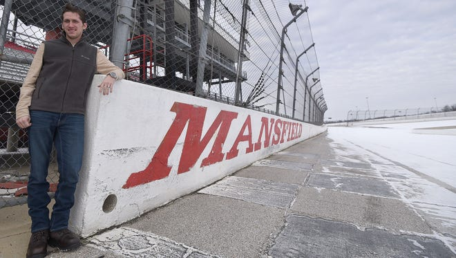 Cody Sommer plans to bring dirt track racing to Mansfield and big events to the race track on the north side of town.