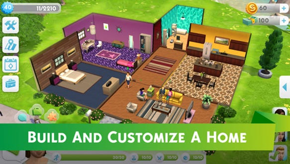 39 the sims 39 is coming to iphone and android - Sims 2 downloads mobel ...