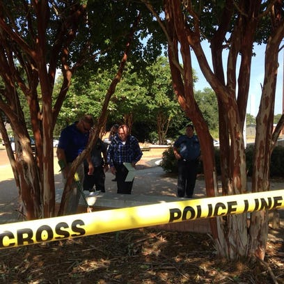 Law enforcement authorities are on the scene of a shooting