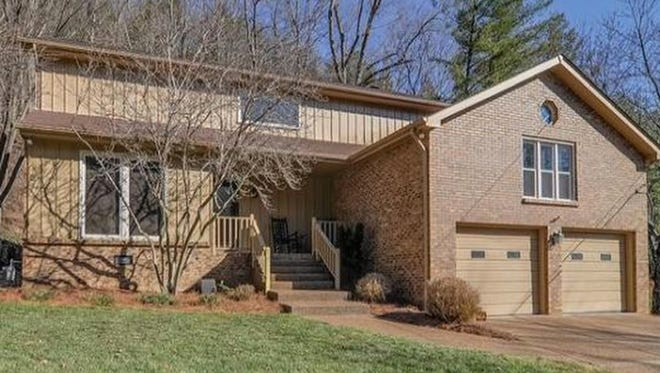 This four-bedroom Brentwood home has been updated. Features include plank flooring, stainless appliances and a tile backsplash in the kitchen.
