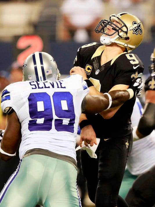 Saints Cowboys Football
