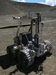 NASA's RESOLVE mission (later renamed Resource Prospector)