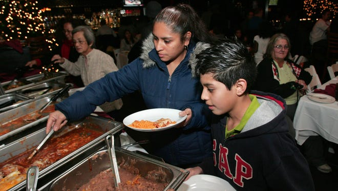 The Westlake Village Cisco's Mexican Restaurant in 2012 hosted a free dinner for needy families who were helped by nonprofit Many Mansions, an affordable housing adviser. Sunday was the restaurant's final day in business.