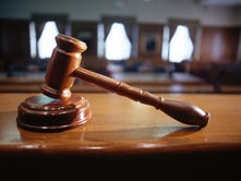 A stock image of a gavel.