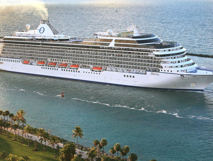 Christened in Miami on Feb. 5, 2011, the 1,250-passenger Riviera was Oceania Cruises' first newly built ship since the line's founding in 2002. What's it like on board the vessel? USA TODAY's Gene Sloan sailed on a preview voyage and offers a photo tour.