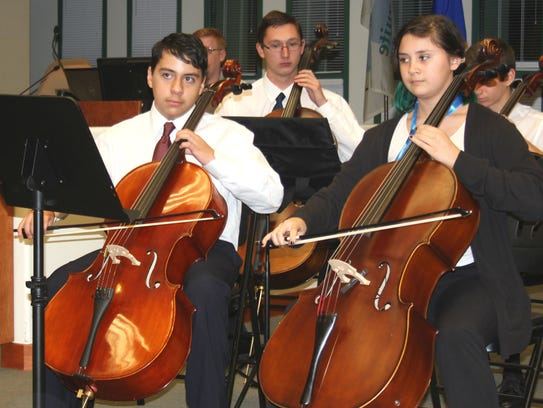 Abigail Snow leads the Harmonic Strings Chamber group,