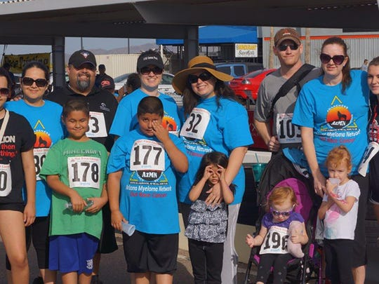 Participating family team that is racing for their