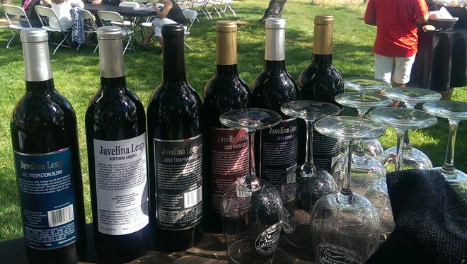 Javelina Leap Winery produces a variety of wines used for events on site.
