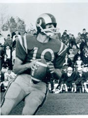 Joe Theismann at South River High School in 1975.