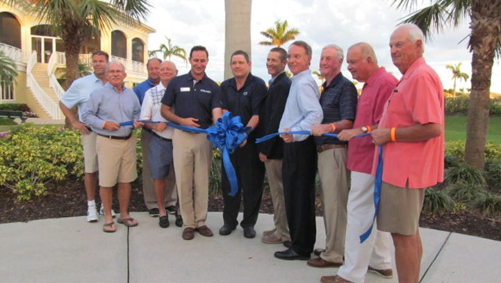 Naples Lakes Country Club held a ribbon cutting on