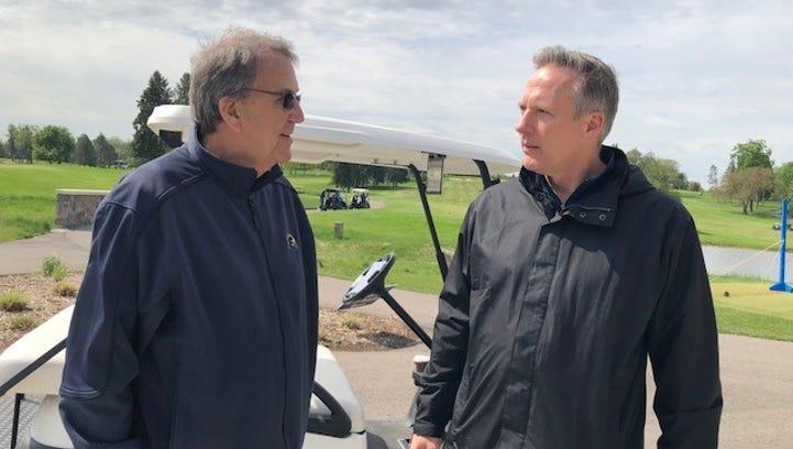 Ex-UM QB Hewlett's golf event nears $1M for diabetes