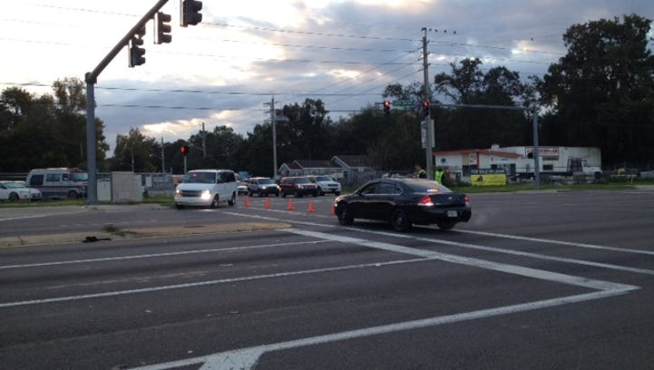 JSO Traffic Homicide investigating accident at Lenoid