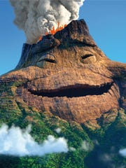 """A still from the Pixar animated film """"Lava."""""""