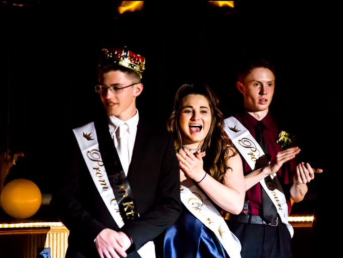 Pacelli's prom court is announced during the school's